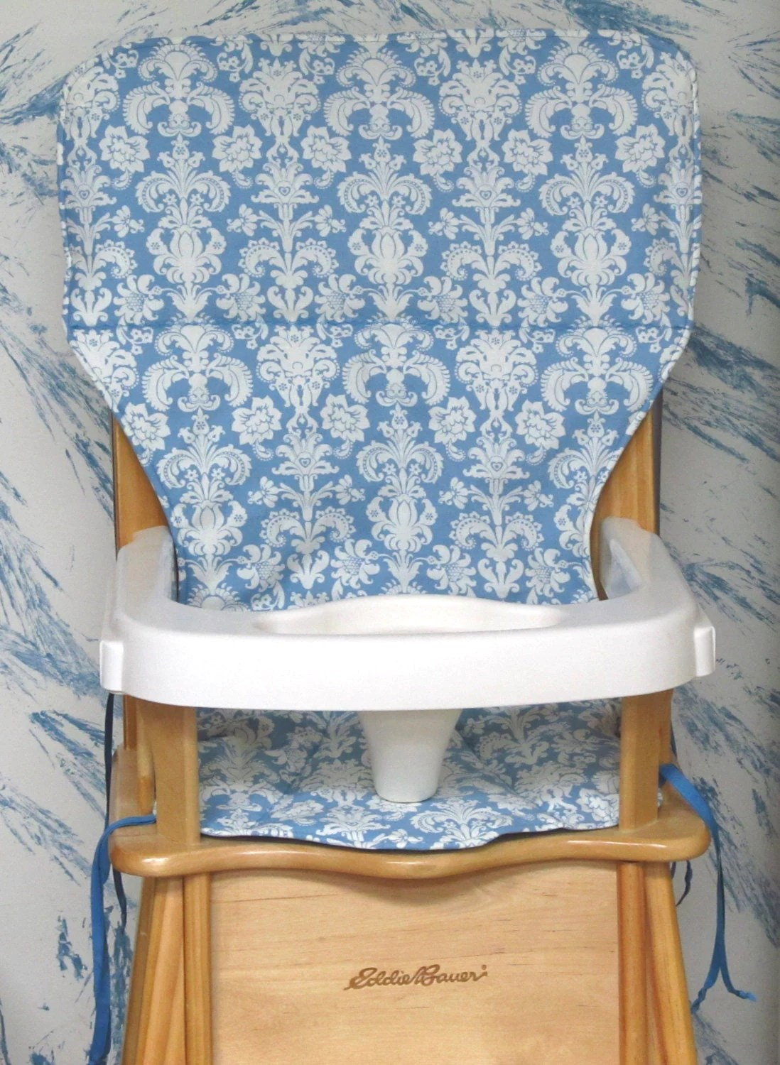 jenny lind high chair white desk vancouver eddie bauer wood cover pad by