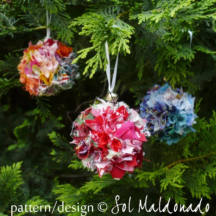 Items similar to Christmas tree Ornament Tutorial Eco