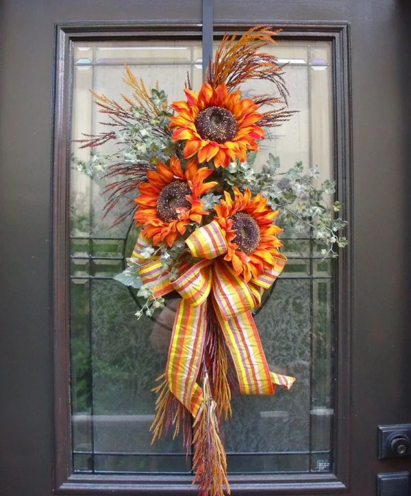 Sunflower Fall Swag Decorations