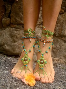 Bohemian Wedding Barefoot Sandals