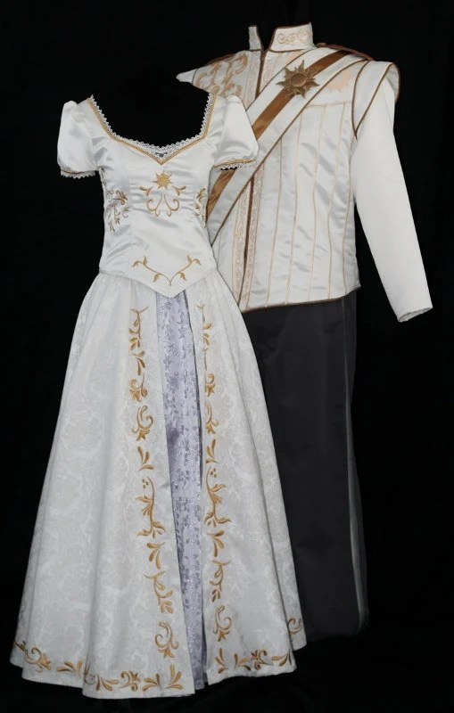 Adult Rapunzel Wedding Costume Custom Made By