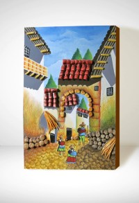 Peru Decor Peruvian Painting.Wall HangingHome Decor Handmade