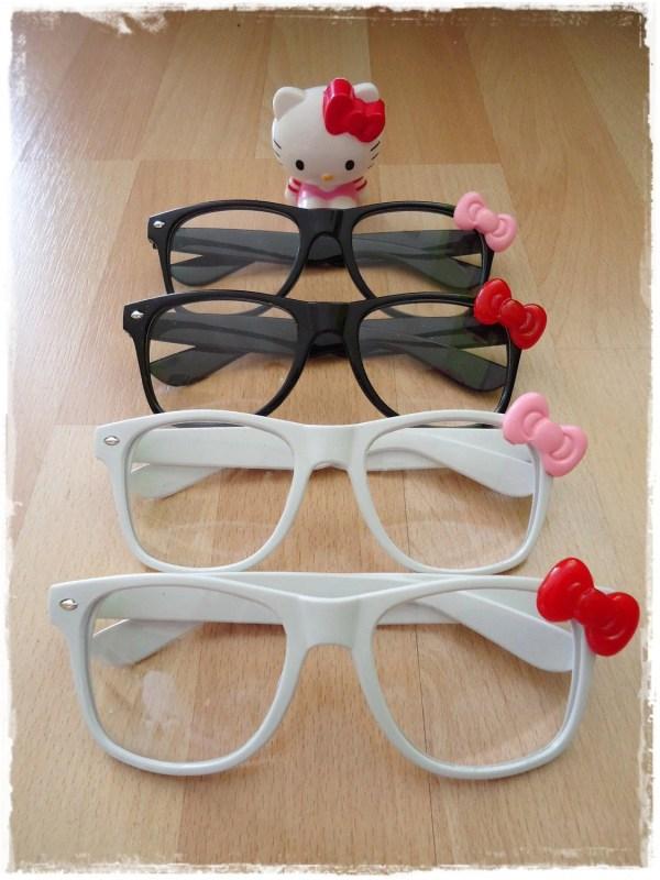 Kitty Nerd Glasses