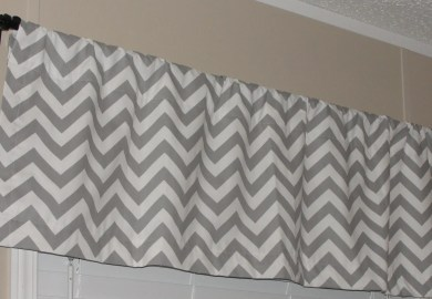 Chevron Curtain Valances