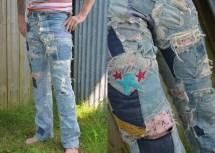 Hippie Patchwork Jeans