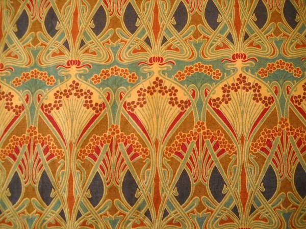 Art Nouveau Fabric Patterns