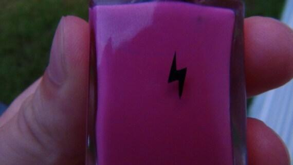 Lightning nail art decal sticker set of 50