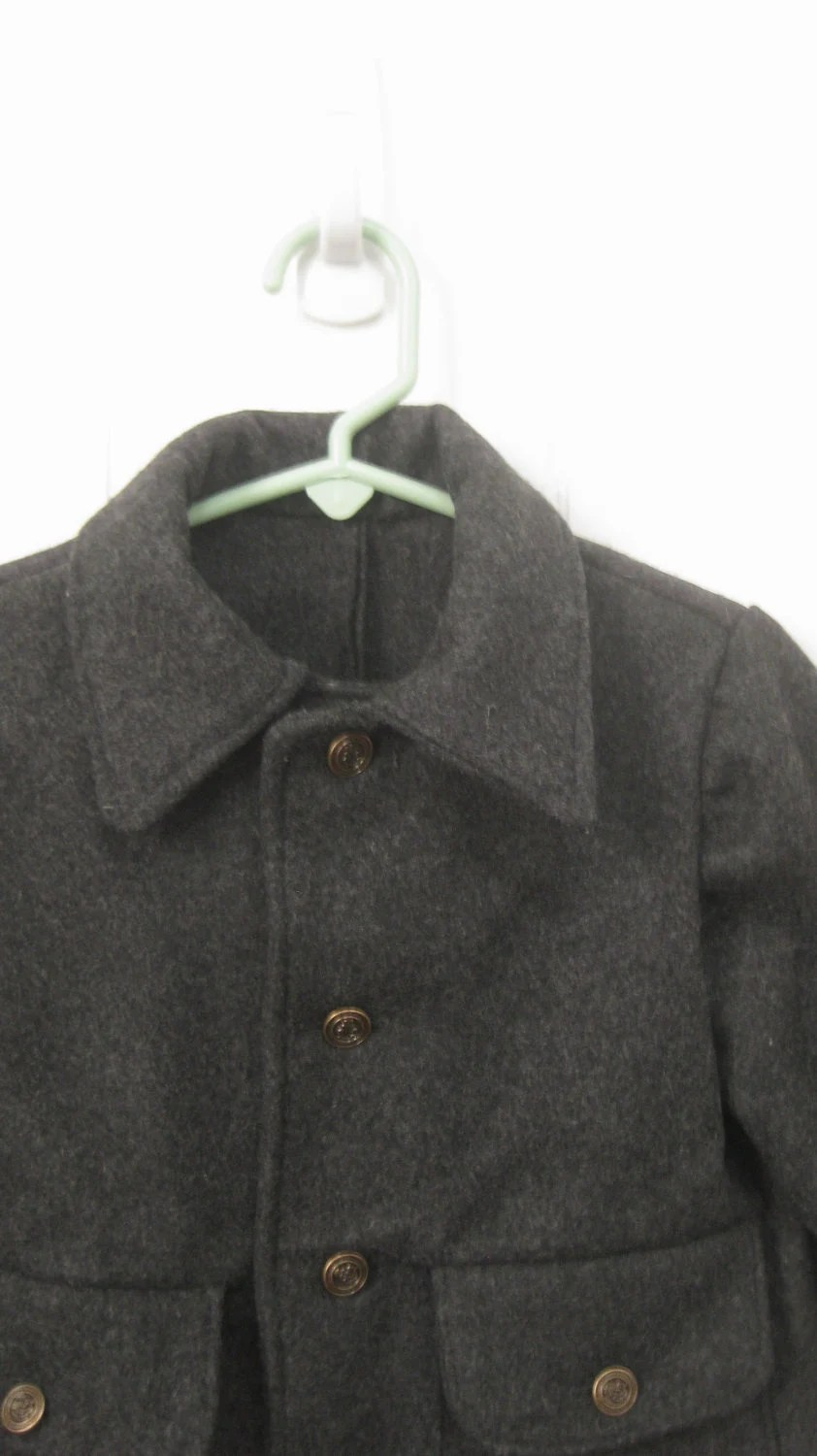 The Keith Coat in gray size 3T