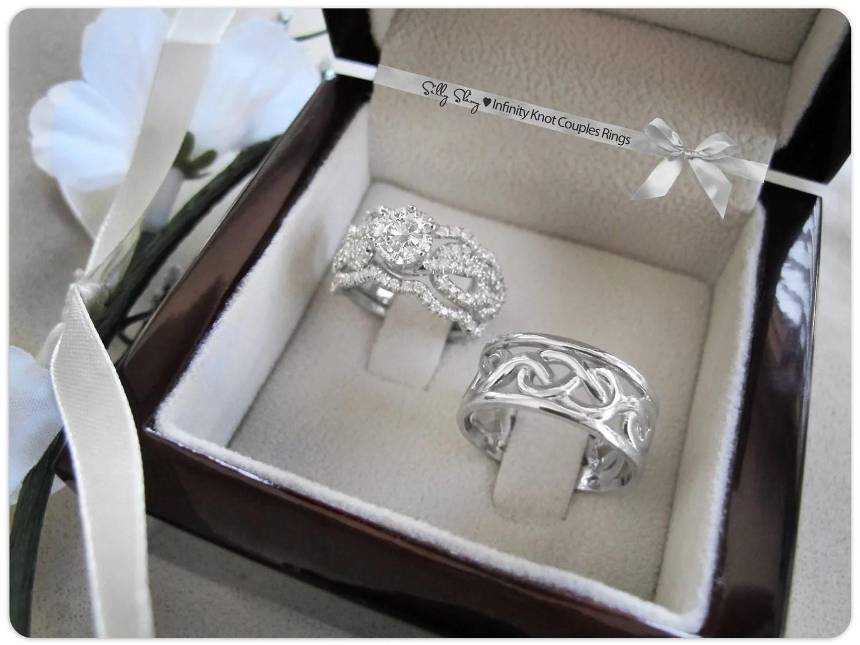 Diamond Infinity Wedding Band