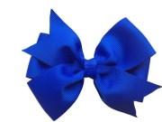 4 royal blue hair bow