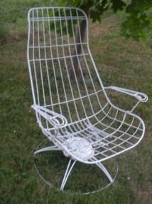 Vintage Homecrest Wire Patio Furniture