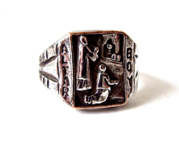 Antique Altar Boy Ring Catholic Priest