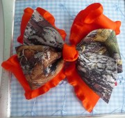 mossy oak camo hair bow choose