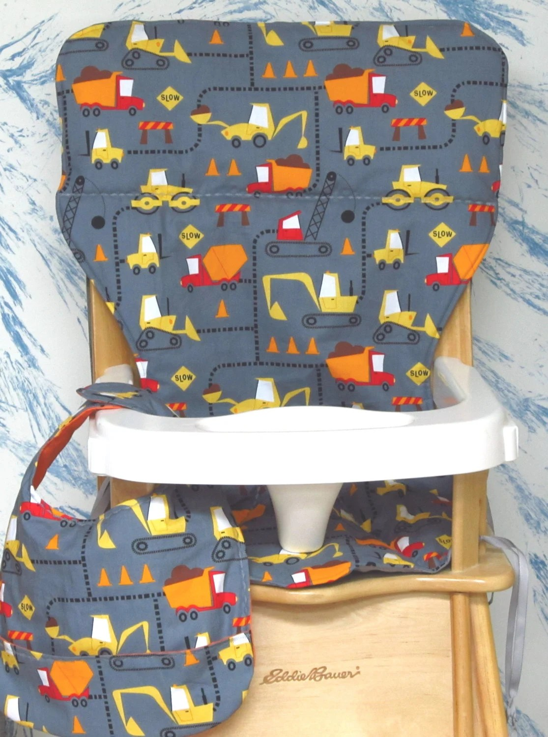 graco high chair seat cover whiskey barrel pub table and chairs eddie bauer/jenny lind wood padwith