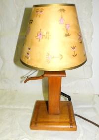 Wooden Water Pump Lamp