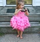 Pink Feather Flamingo Costume
