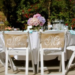 Burlap Chair Covers Wedding Bedroom Marks And Spencer Signs Mr Mrs By Butterflyabove