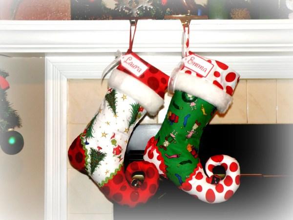 Personalized Christmas Stocking Elf
