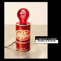 Dr. Pepper Lamp Totally Cool Vintage Soda Can by ...