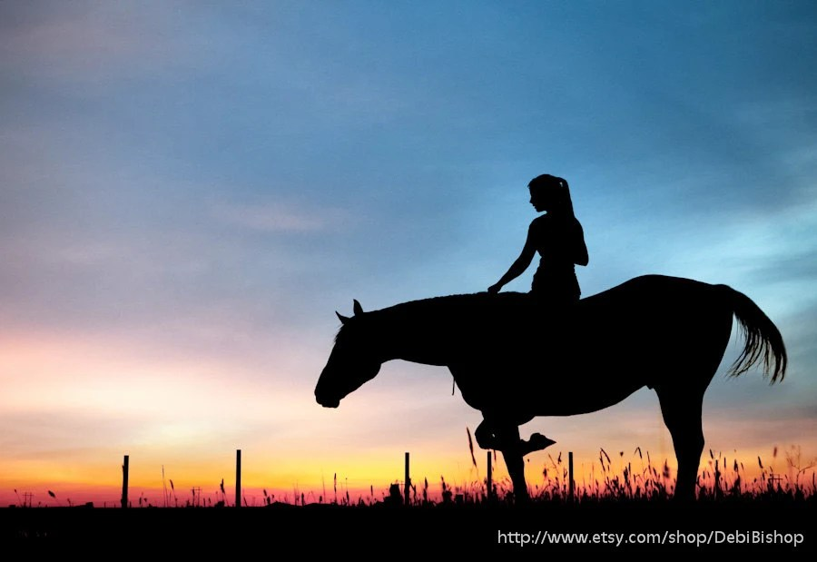 Cute Kids Couple Wallpapers Horse Amp Rider Silhouette Sunset Sky Nature Farm And Ranch