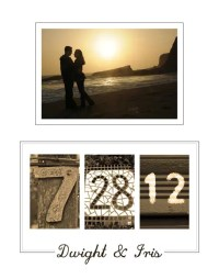Personalized Wedding Date Printable Wall Art DIY by ...