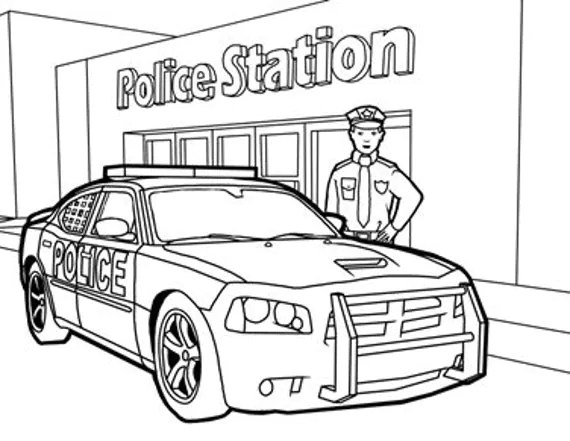 Items similar to Printable Colouring Page for Primary