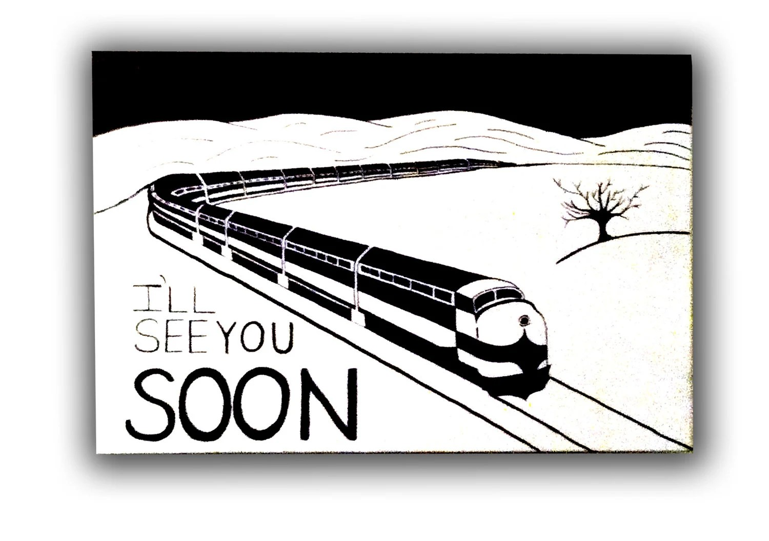I Ll See You Soon Canvas By Yourcanvas On Etsy