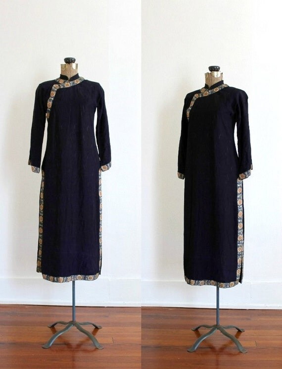 Items Similar To Vintage 1920s Silk Cheongsam Antique 20s