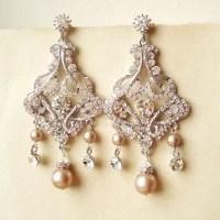 Pearl Wedding Earrings Vintage | www.pixshark.com - Images ...