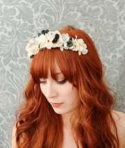 bridal hair accessory wedding flower