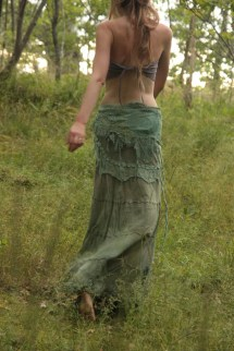 Bohemian Hippie Gypsy Skirts