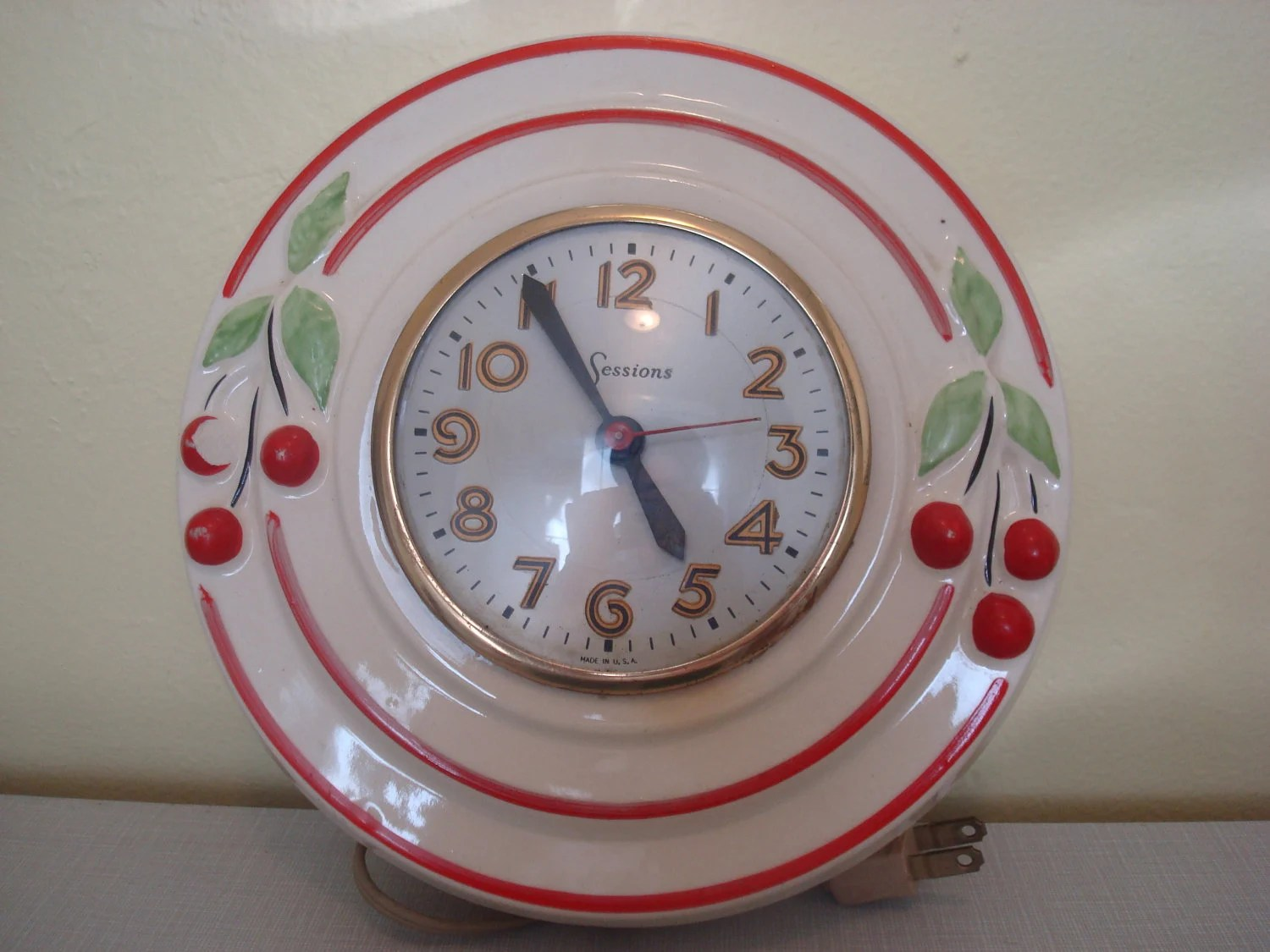 kitchen clocks for sale lowes cabinets incredibly 1950 39s antique clock with