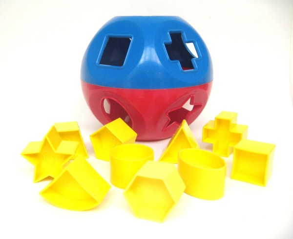 Tupperware Shape Sorter Ball