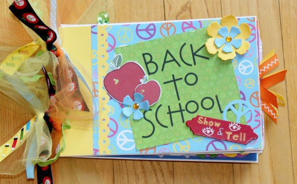School Scrapbook Album