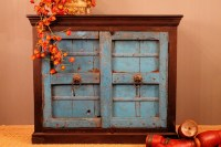 Repurposed Antique Door Buffet by hammerandhandimports on Etsy