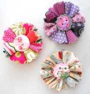 items similar hair clips folded