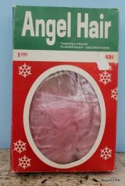 vintage pink angel hair original
