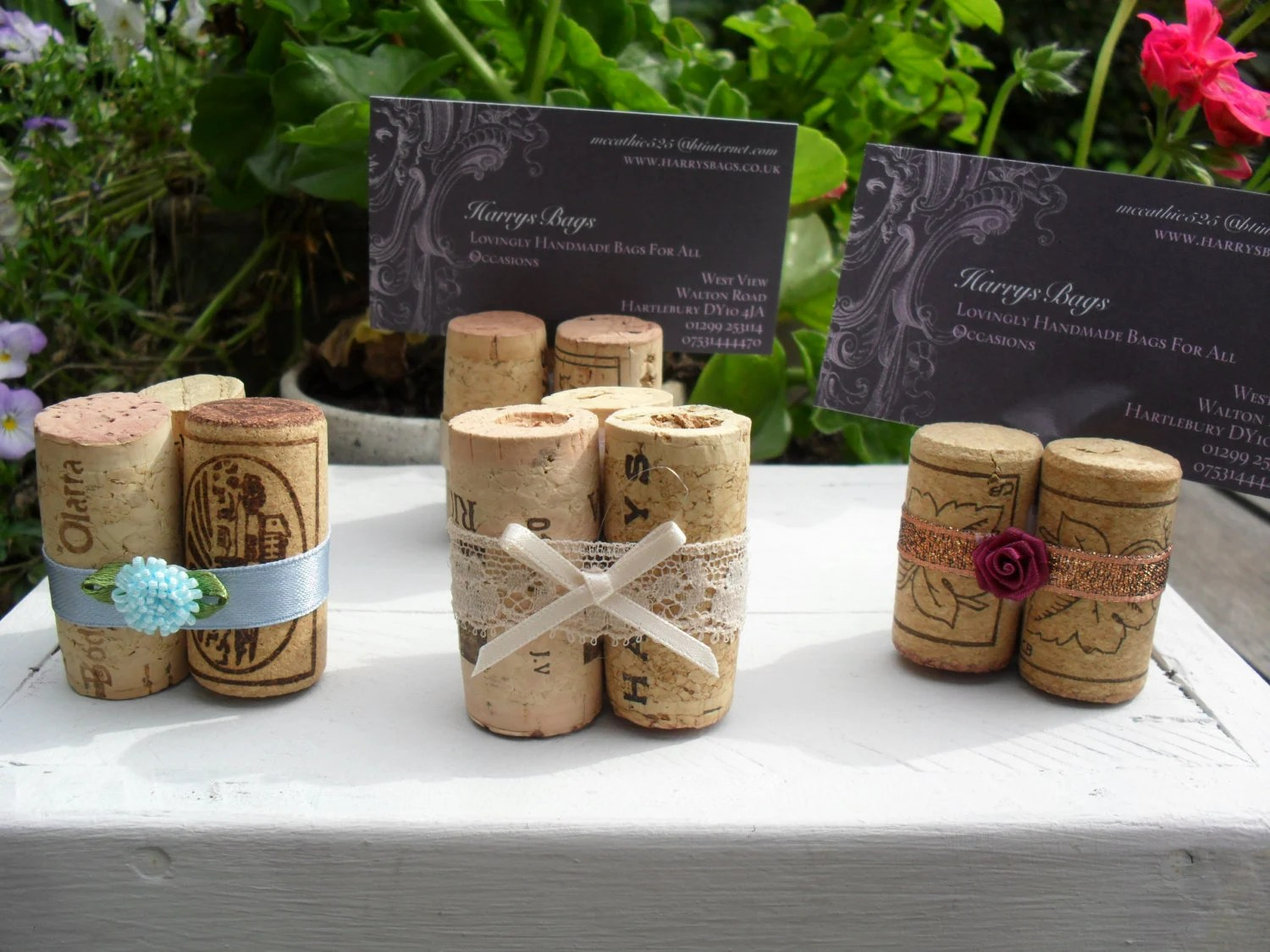 Wine Cork Place Card Holder Table Numbers Escort By Smccathie