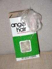 vintage 80s angel hair retro
