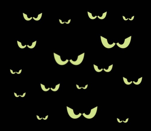 small resolution of 16 spooky eyes glow in the dark removable wall decal free scary tree drawings halloween moon clip art