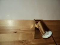 Tiny Brass Headboard Light Hook On Reading Light Art Light
