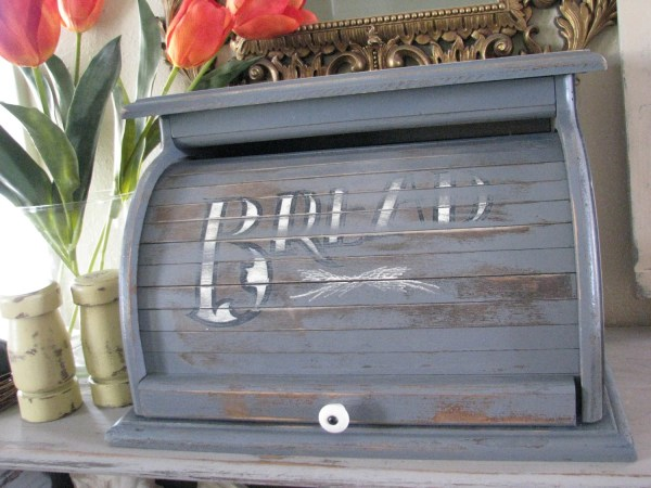 French Country Bread Box