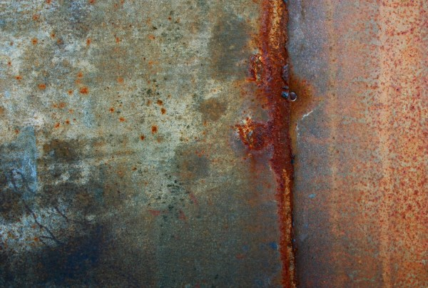 Abstract Fine Art Industrial Rust Sherilwright
