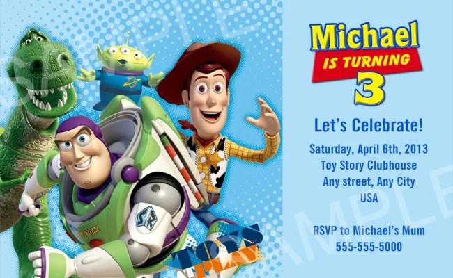 Toy Story Invitation Printable Toy Story Birthday