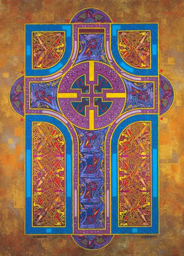 Christian Art Print Shining Path 16x11. Celtic