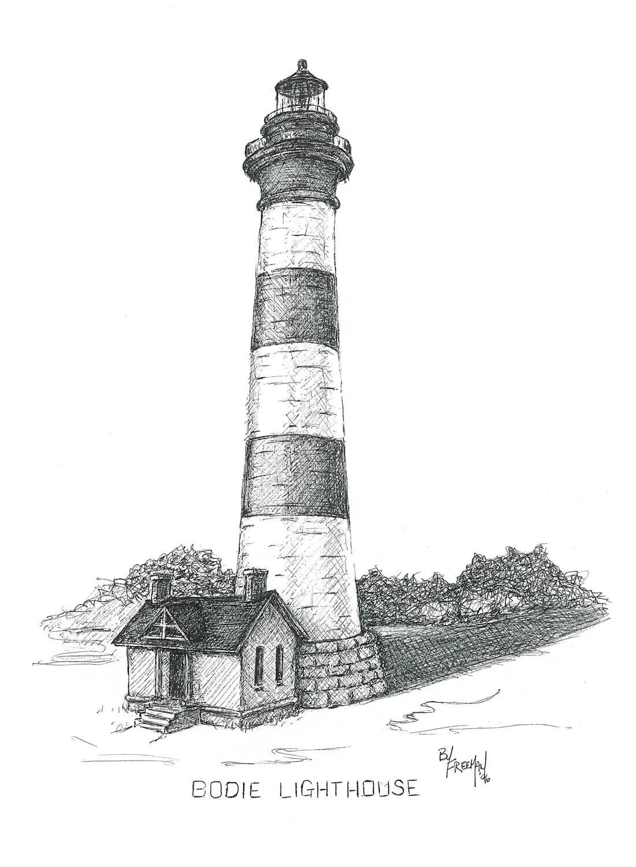 Boisland Lighthouse Nc