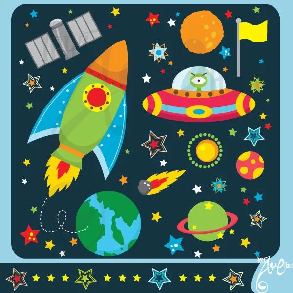 outer space clipart spaceclip