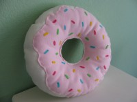 LARGE DONUT PILLOW on The Hunt