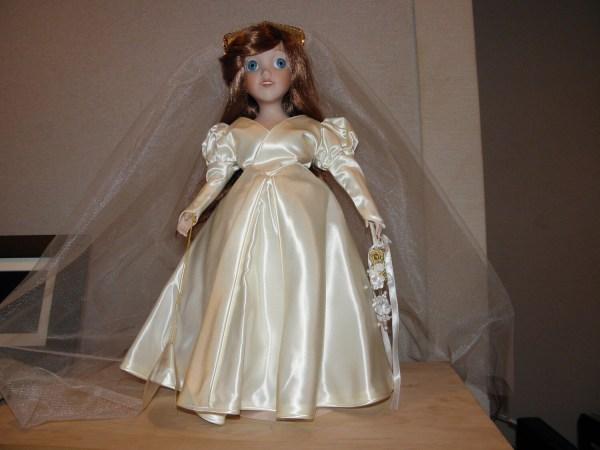 Little Mermaid Ariel Porcelain Bride Doll 1992 Stefanikland