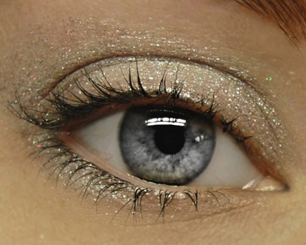 Rainbow Glitter Eyeshadow IRIS 138 Mineral Eye Shadow by